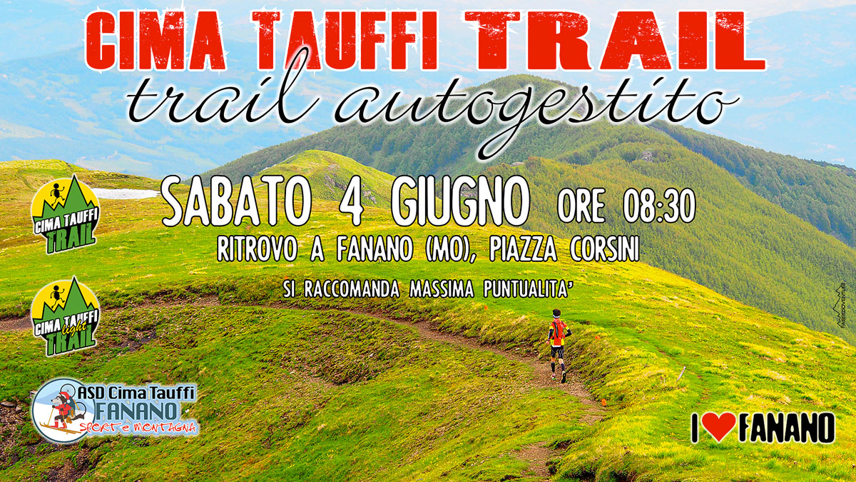 Cima Tauffi Trail Autogestito