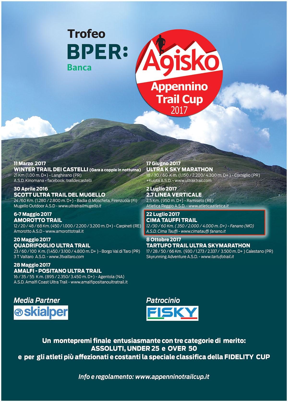 Appennino trail cup 2017